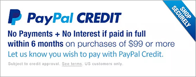 PayPal Credit is the simple, flexible credit line